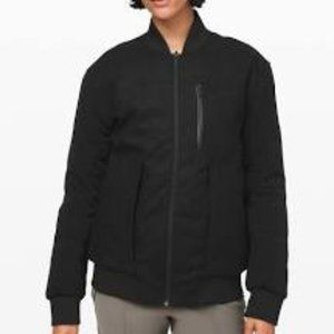 LULULEMON ROAM FAR WOOL BOMBER JACKET